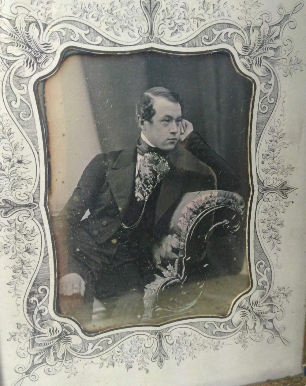 Georg Ferdinand Bernasconi, rok 1850 lub 1851