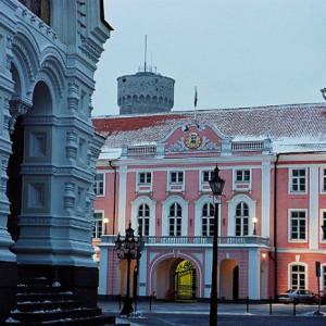 Budynek estońskiego parlamentu - Riigikogu - alt