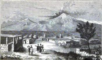 Widok na Ararat z Syrbaghan