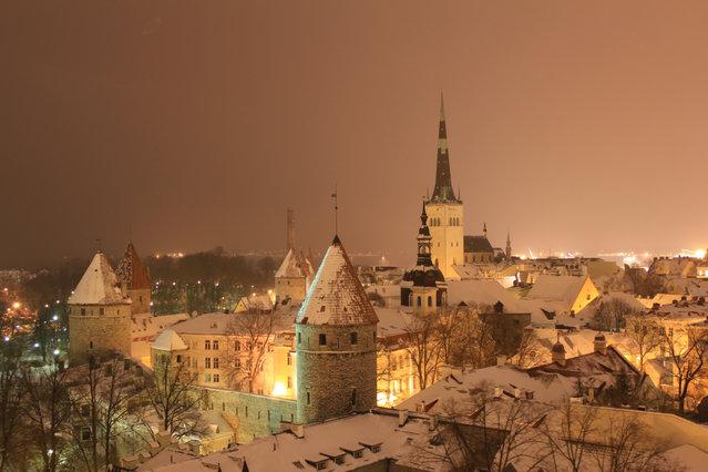 Zimą w Estonii wieje, więc czasem lepiej ręce trzymać w kieszeniach czy rękawiczkach i wkleić zdjęcie zrobione w poprzednim, czy dwa sezony temu...