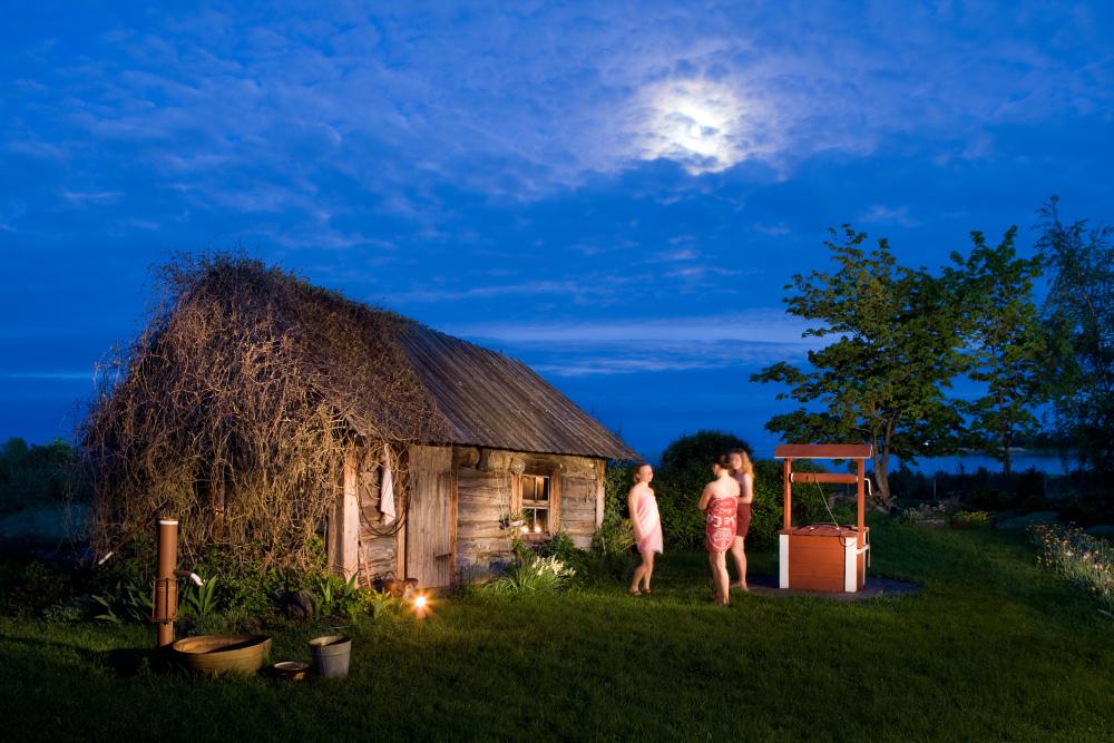 Jak wygląda estońska sauna?