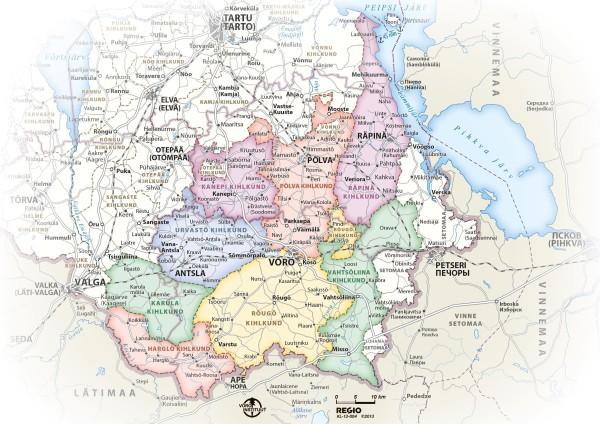 Historyczny region Võru