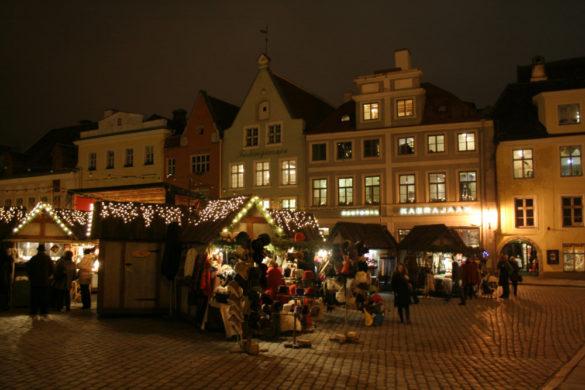 Świąteczny Tallinn