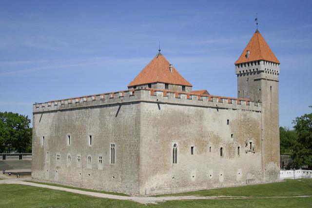Zamek w Kuressaare, zdj. Kazimierz Popławski