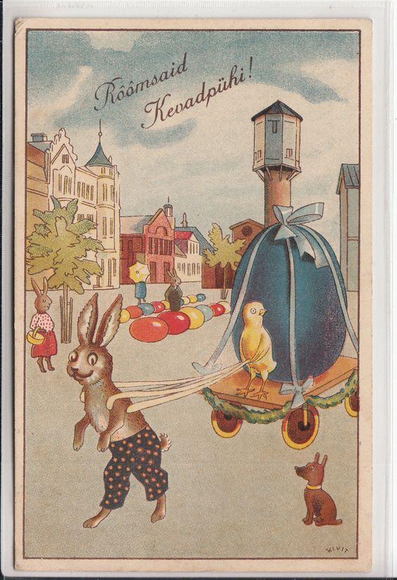 Urok starych kartek pocztowych