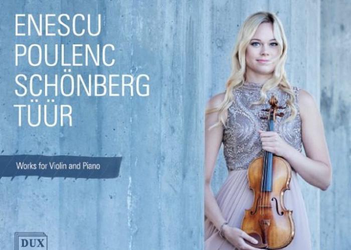 Nowa płyta Mari i Mihkela Poll: dzieła na skrzypce i fortepian Poulenca, Enescu, Schoenberga i Tüüra