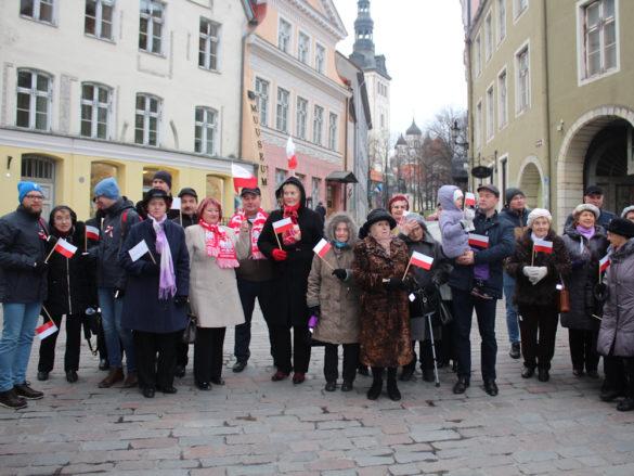 Estonia świętuje stulecie niepodległości Polski