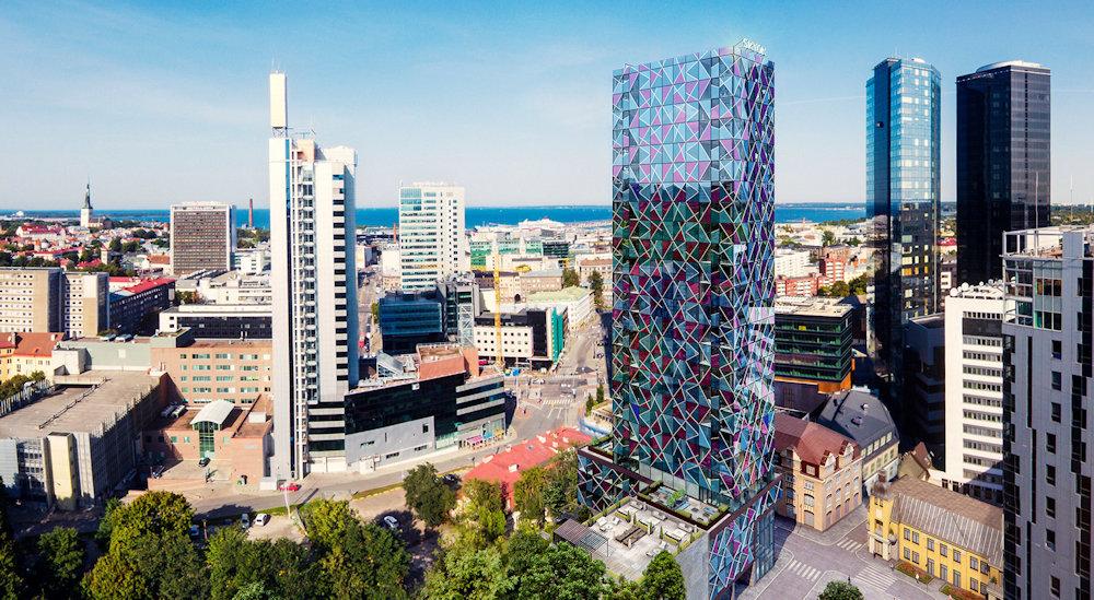 Tallińskie city się powiększa. Powstanie 95-metrowy wieżowiec Skyon